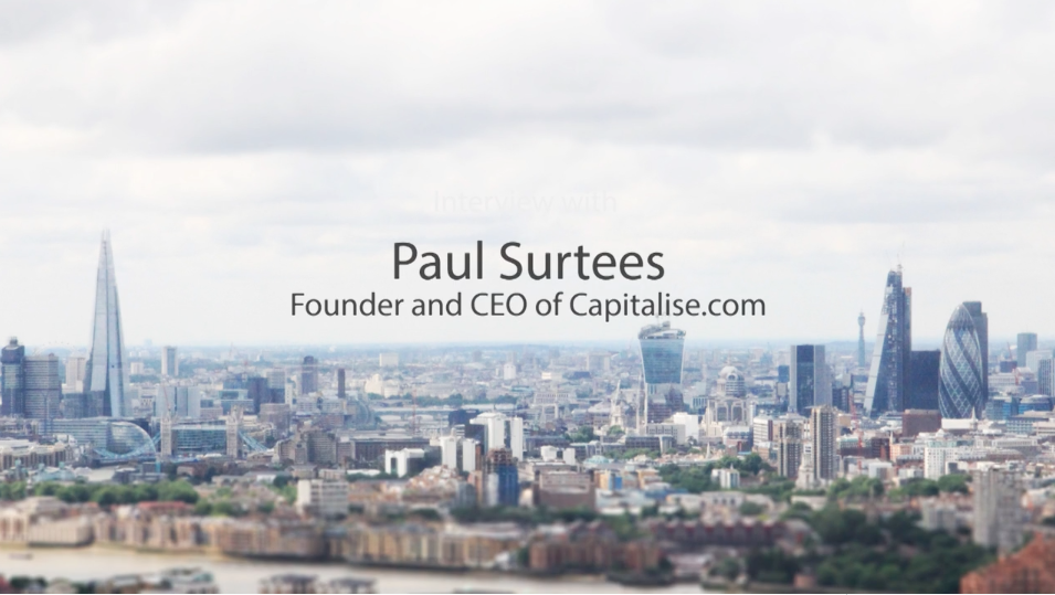 openbusinesscouncil Interview with Paul Surtees Founder of Capitalise.com