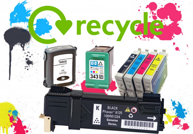 Why You Should Recycle Ink and Toner Cartridges
