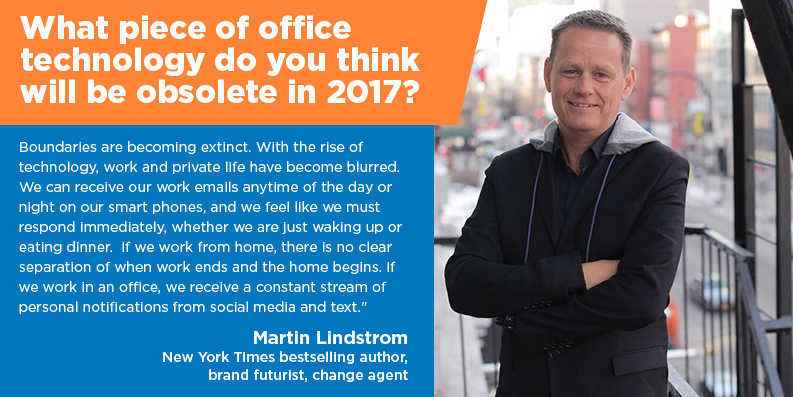 What Office Item Will Be Obsolete in 2017? FitSmallBusiness