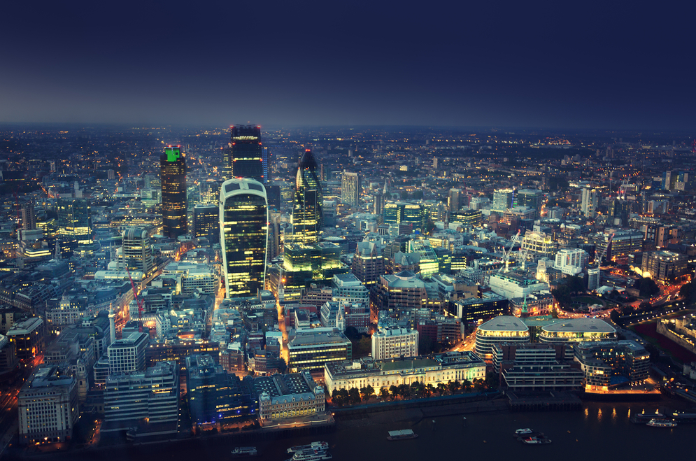 A Vibrant Alternative Finance Landscape from the helicopter view of London