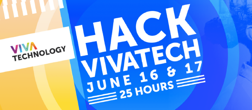 The first edition of Hack VivaTech on June 16th and 17th