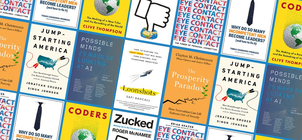 The Hunt For 'Business Book Of The Year' Begins