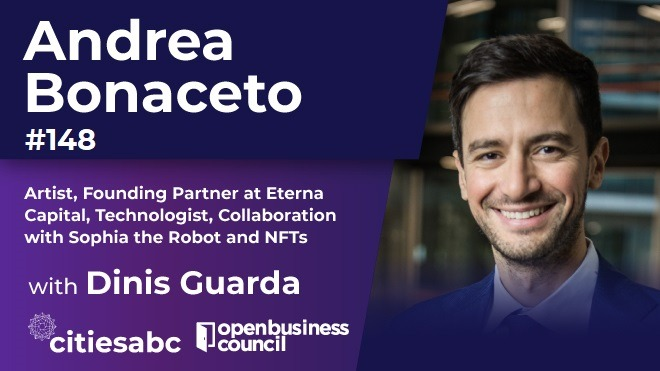 Andrea Bonaceto, NFT, NFT creator, Sophia the Robot, Interview, Andrea Bonaceto interview